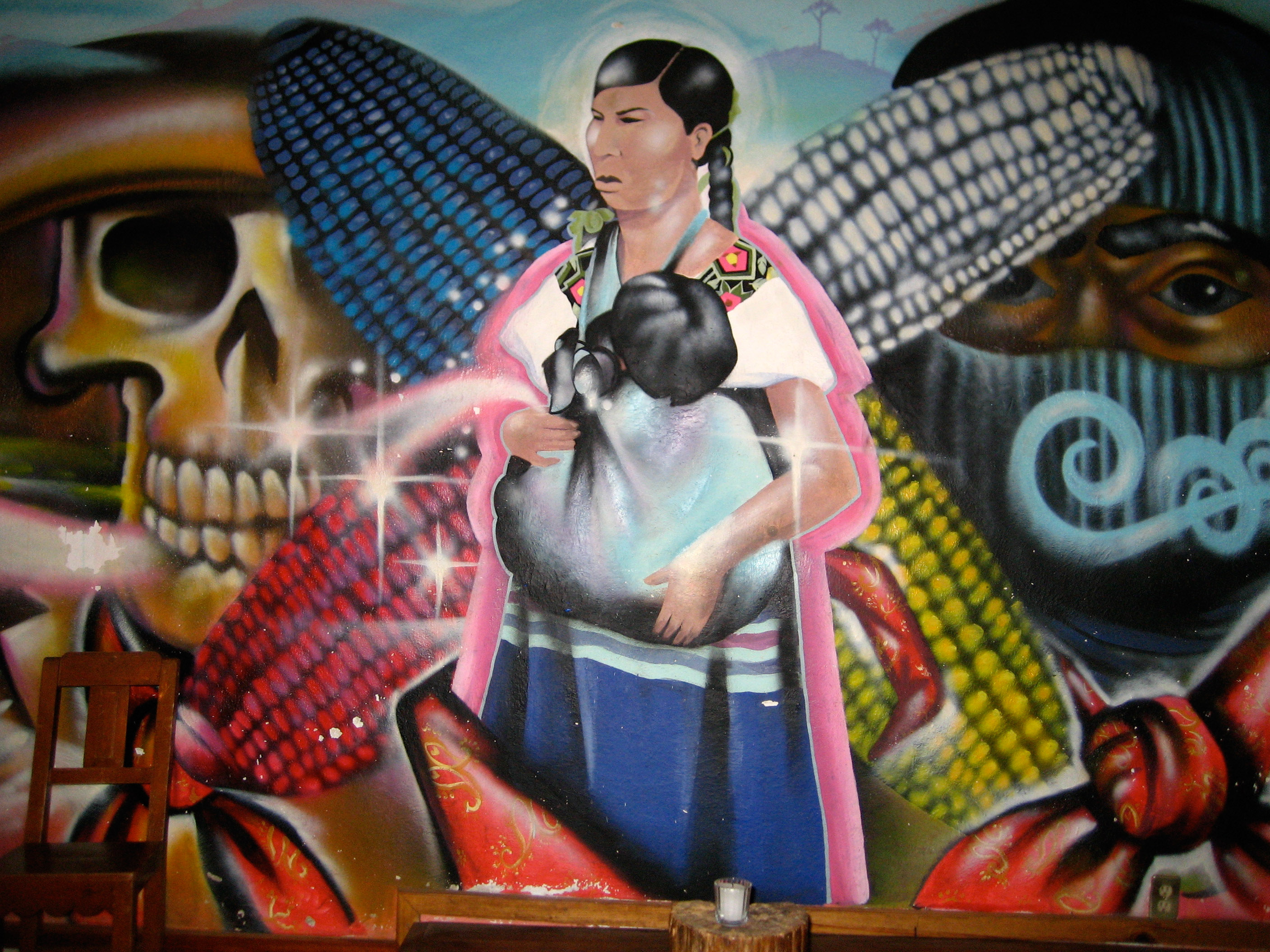 301 moved permanently for Mural zapatista